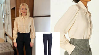 Holly Willoughby is wearing an expensive outfit on This Morning today