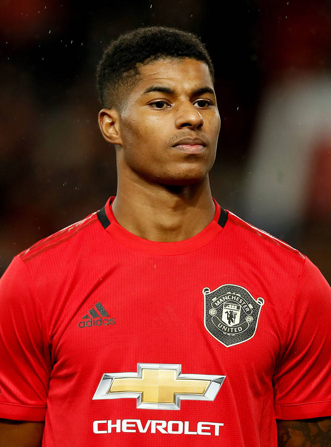 Marcus Rashford MBE has called the food parcels 'unacceptable'