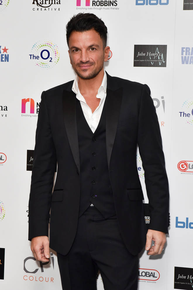 Is Peter Andre behind the mask?