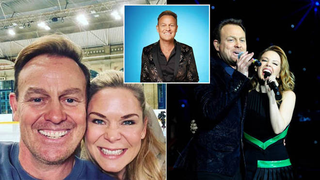 Jason Donovan is appearing on Dancing On Ice this year