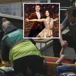 Graham Bell's Dancing On Ice partner Yebin Mok in 'freak accident' as leg is stabbed with ice blade