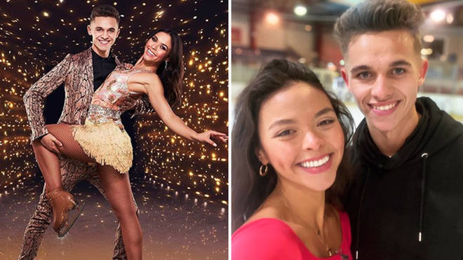 Joe has been partnered with Vanessa for Dancing On Ice 2021