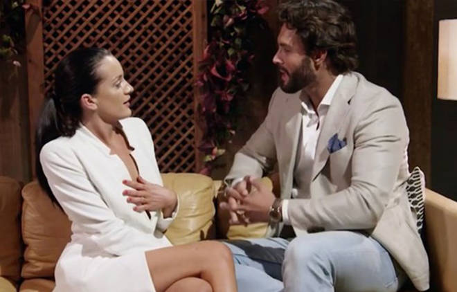 Sam and Ines came to blows on Married at First Sight Australia