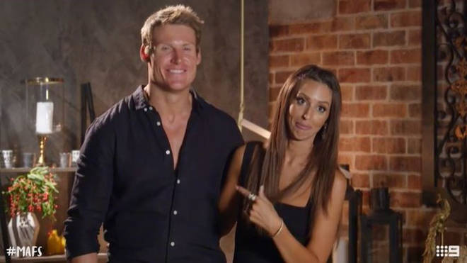 Lizzie was paired with Seb on Married at First Sight season seven