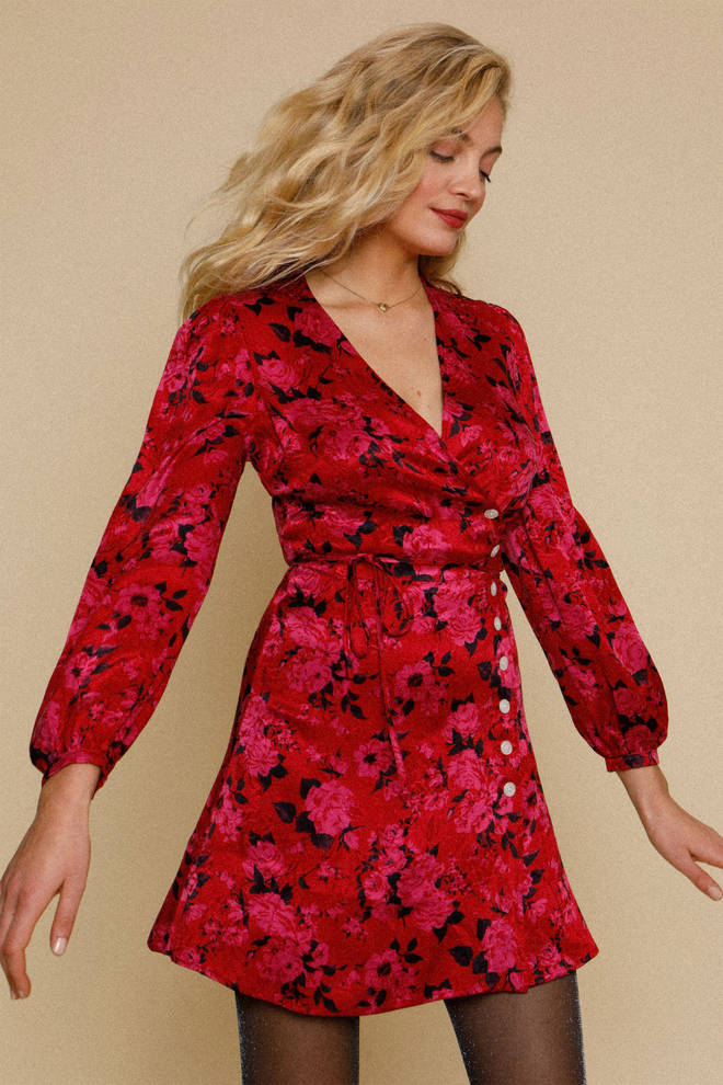 Holly Willoughby's red dress is from Rouje