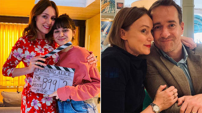 Keeley Hawes is in the cast of ITVs Finding Alice