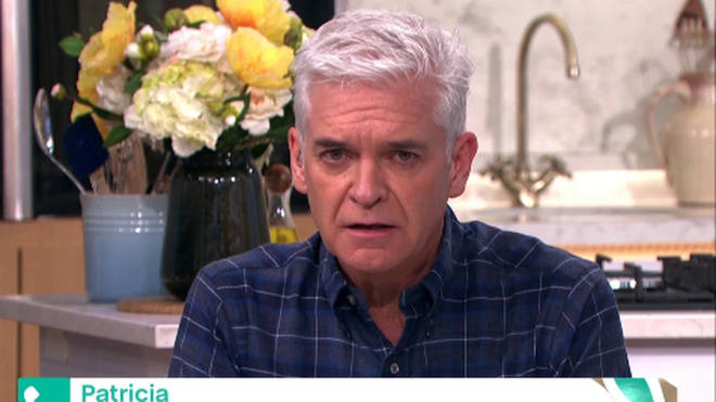 Phillip Schofield stepped in to help the pensioner