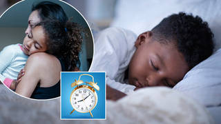 Here's the exact time your children should go to bed