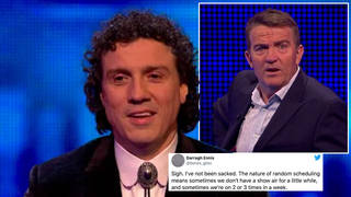 Darragh Ennis has hit back at claims he's been fired from The Chase