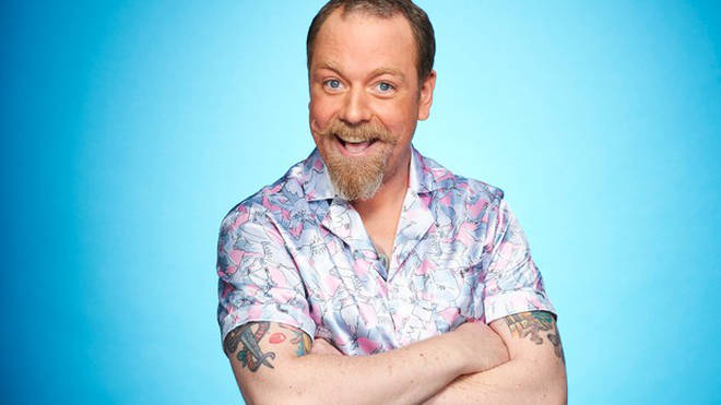 Rufus Hound is competing on the 2021 series of Dancing On Ice