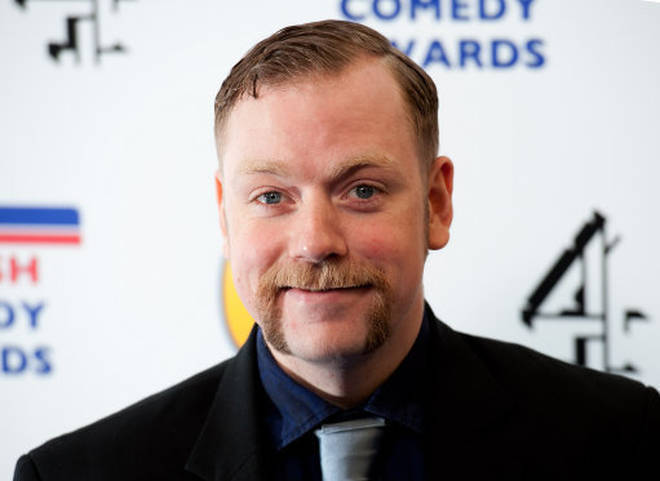 Rufus Hound is a successful comedian
