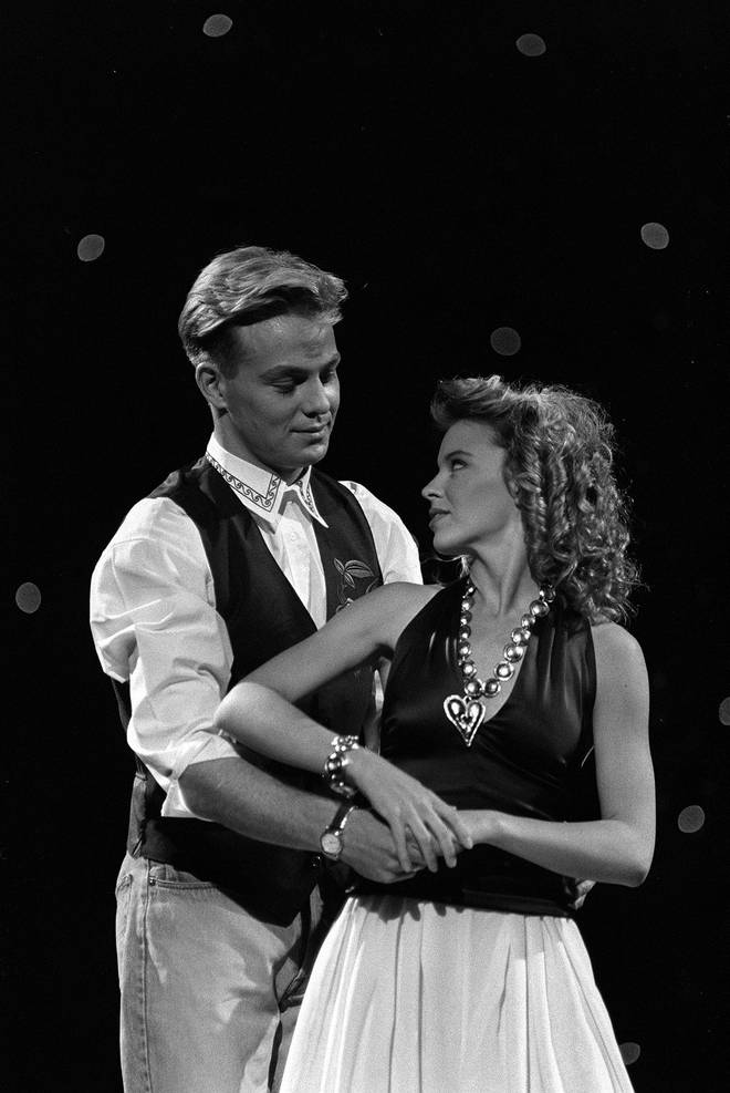 Jason Donovan and Kylie Minogue had a number one single together