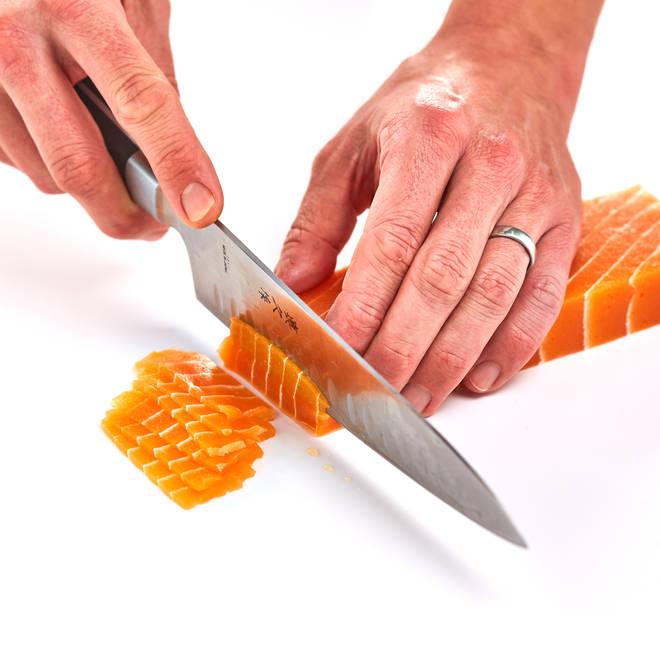 You can order vegan sashimi from Vegetarian Express