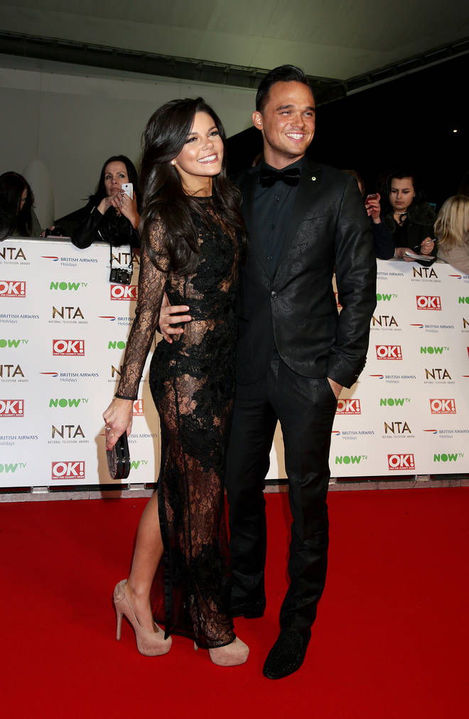 Faye Brookes and Gareth Gates started dating in 2012