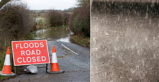 Weather warnings have been issued in parts of the country (stock images)