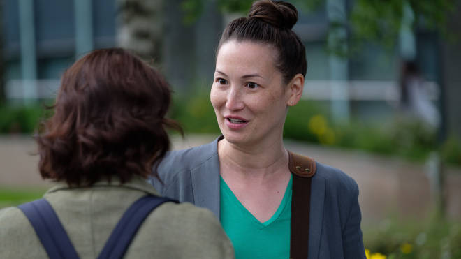 Jennifer Spence as Kathy Torrence in Traces