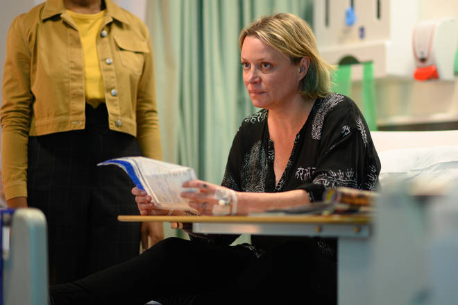 Laurie Brett as Izzy in Traces