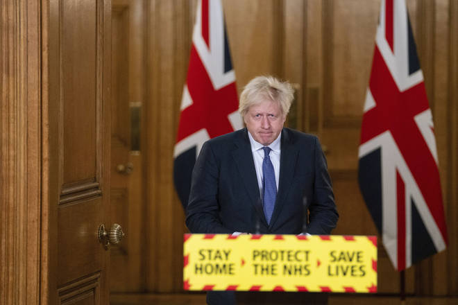 Boris Johnson has said lockdown will be eased slowly