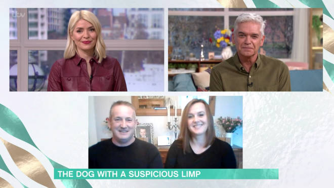 Michelle and Russell ended up spending £300 trying to find out what was wrong with their beloved dog