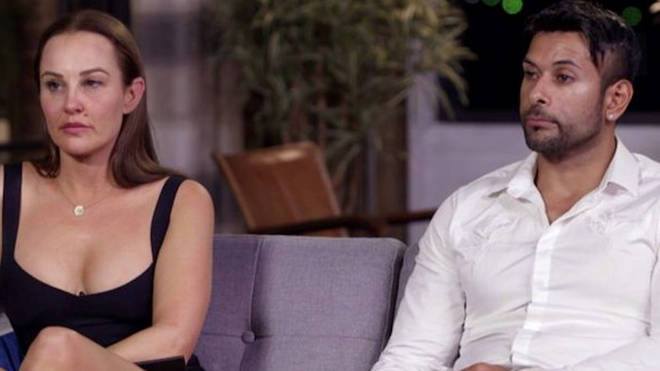 Dino and Melissa split before the Married at First Sight Australia finale