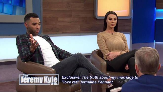 Jermaine Penne on Jeremy Kyle