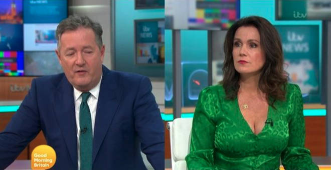 Piers and Susanna shared the sad news this morning