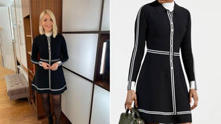 Holly Willoughby's dress is from Ted Baker