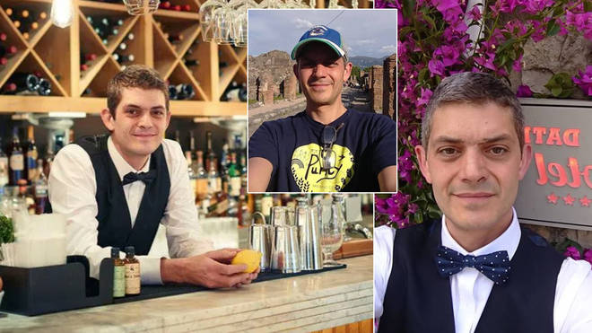 Who is First Dates bartender merlin?