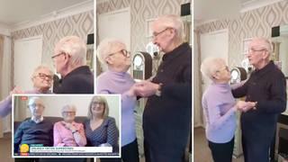 Elderly couple become TikTok stars during lockdown as dancing videos go viral