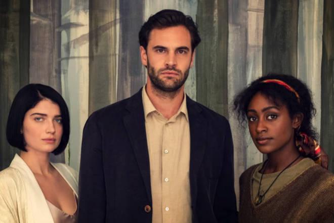 Behind Her Eyes stars Simona Brown, Tom Bateman, and Eve Hewson