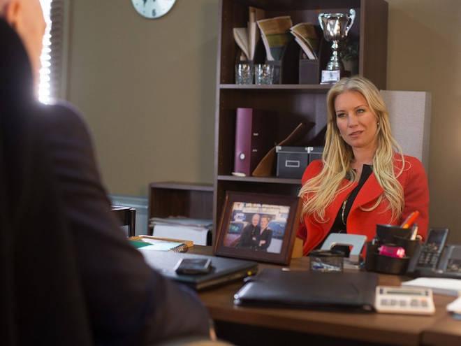 Denise Van Outen played Karin in EastEnders