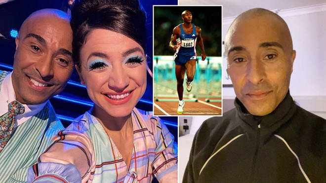 Colin Jackson is appearing on Dancing On Ice