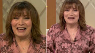 Lorraine viewers think they spotted a very rude detail on her dress
