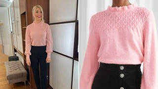 Holly Willoughby's knitwear is from & Other Stories