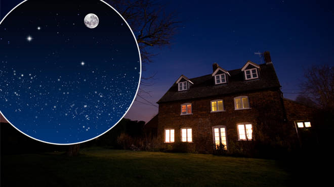 The Moon, Mars and Uranus will be visible in the sky tonight
