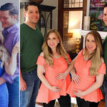 rittany and Briana Deane are expecting with Josh and Jeremy Salyers