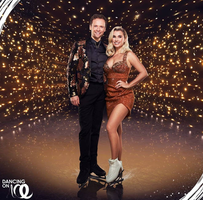 Mark Hanretty is a professional ice dancer from Glasgow