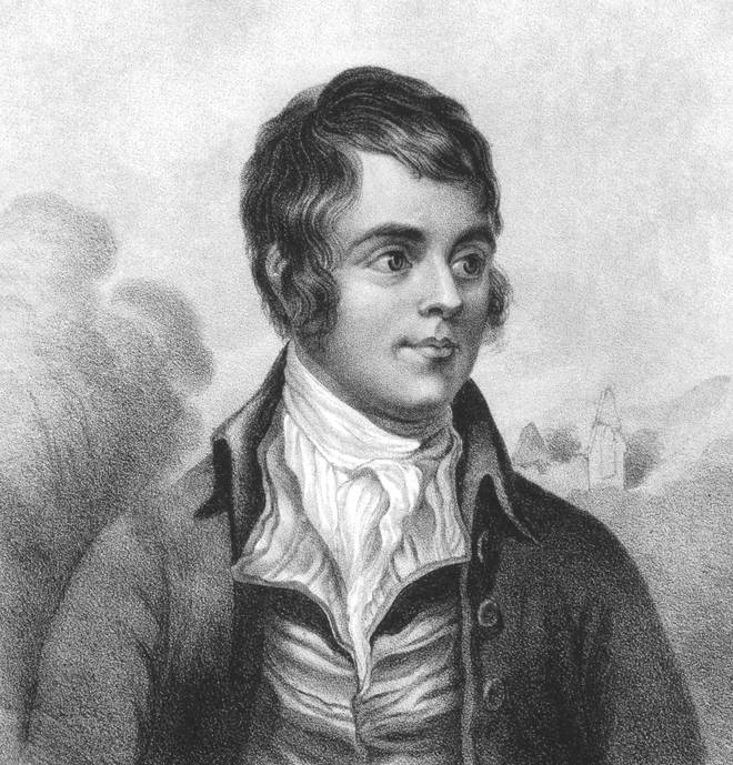 Robert Burns (also known as 'Rabbie) was born on 25 January 1759