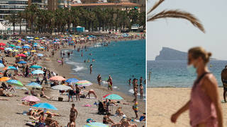 Spanish holidays could be off the cards this summer