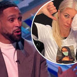 Ashley Banjo hit back at critics who said Dancing On Ice was 'overwhelming the NHS'