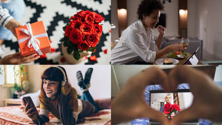 Make Valentine's Day special this year, even if you can't be with your loved one