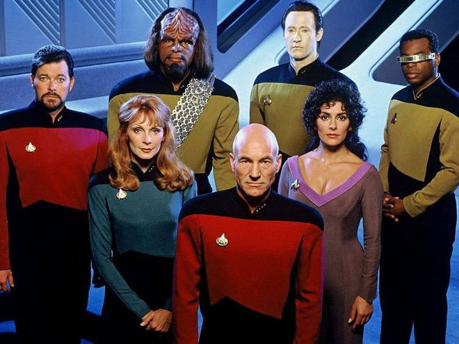 Star Trek: The Next Generation is available to watch on Netflix
