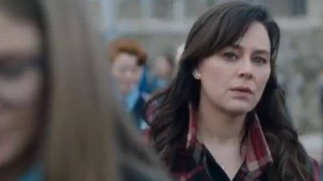 Jill Halfpenny plays Jodie in The Drowning