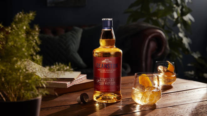 DeanstonDistillery's Kentucky maltis carefully matured in ex-bourbon casks