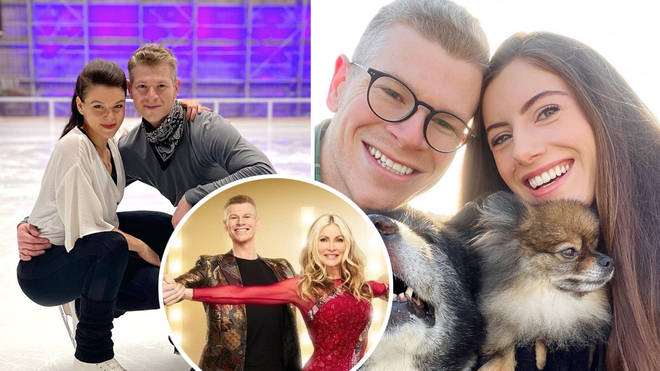 Everything you need to know about Dancing On Ice's Hamish Gaman