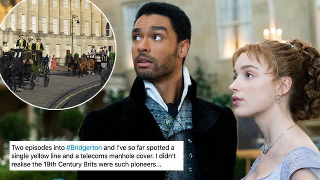 Bridgerton fans have spotted some modern day blunders in the series