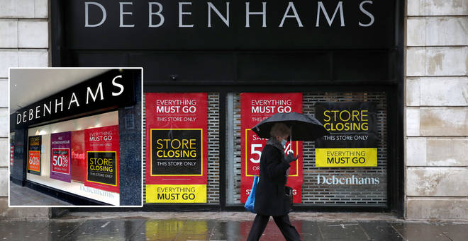 When is Debenhams closing?