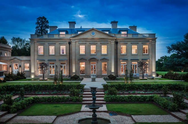 The incredible house is located in Surrey