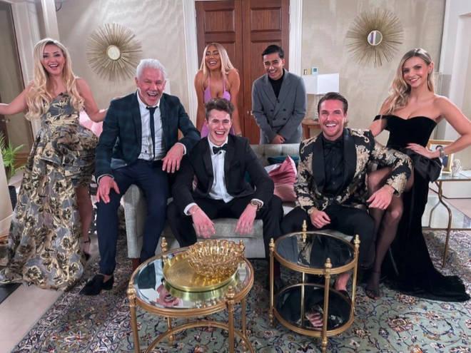 Celebs Go Dating was filmed in a huge Surrey mansion