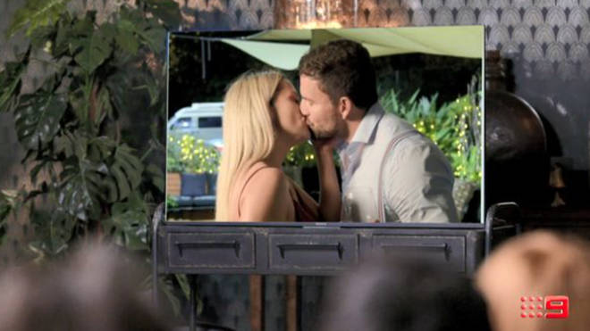 Jessika and Dan's affair was shown during the MAFS Australia reunion